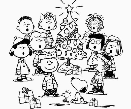 Charlie Brown Christmas Tree Drawing.A Charlie Brown Christmas At Anoka Middle School For The