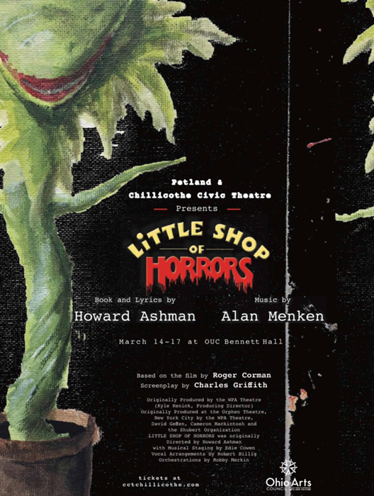 Little Shop of Horrors at Chillicothe Civic Theatre