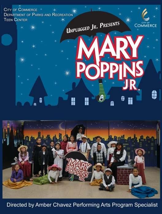 Mary Poppins Jr at City of Commerce (Recreation center
