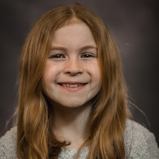 Ava Accardi (6th grade) - Jungle Dancer/Fish head shot