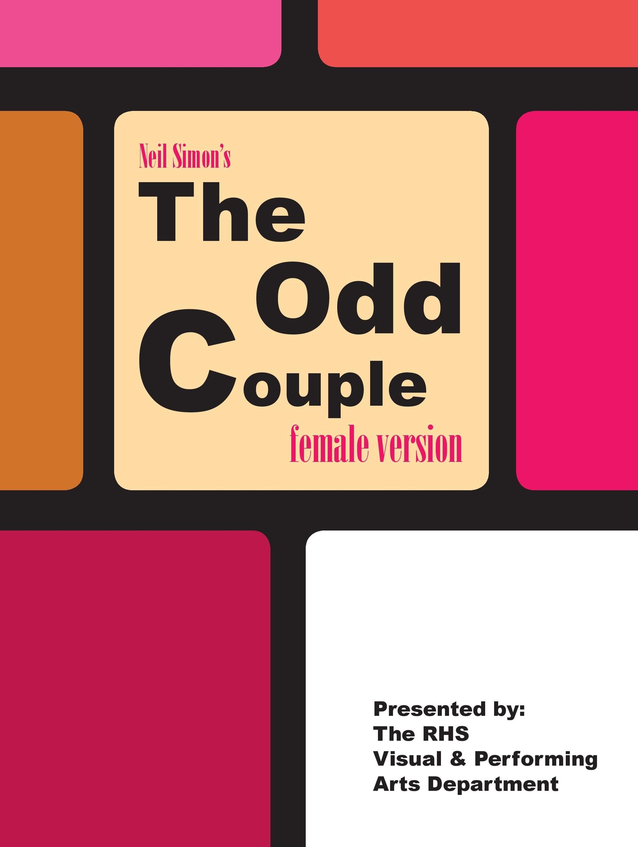 The Odd Couple 2019