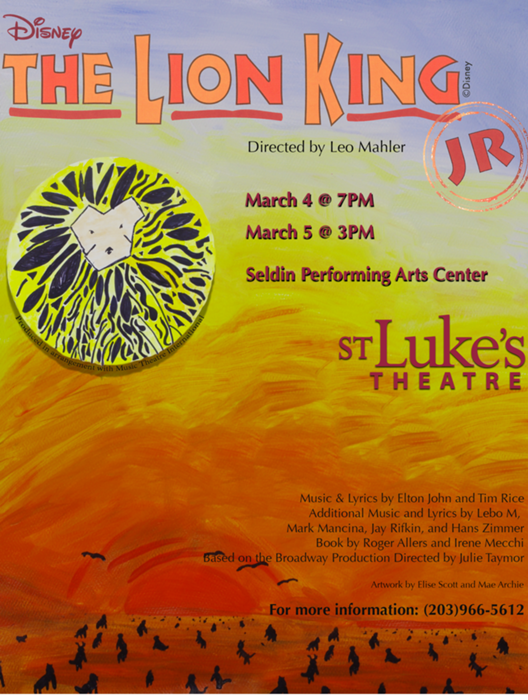 The Lion King Jr At St Lukes School Performances March