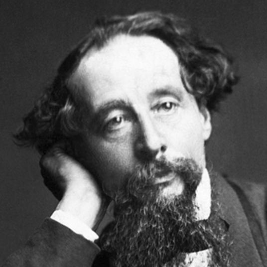 Charles Dickens head shot