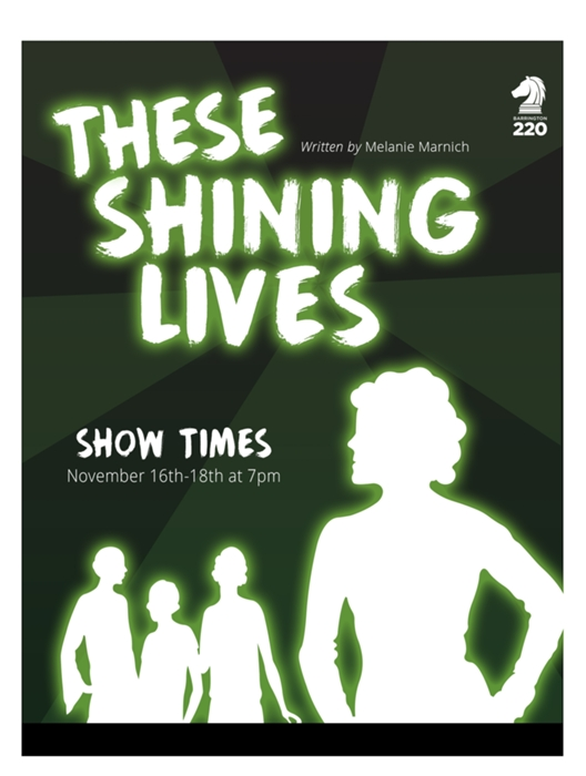 these shining lives These shining lives by melanie marnich male audition monologue scene 19 tom i did i signed up seems like a million years ago i saw things that no human being.