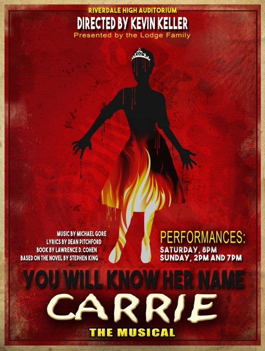 Carrie The Musical At Cw Performances April 18 2018 Cover
