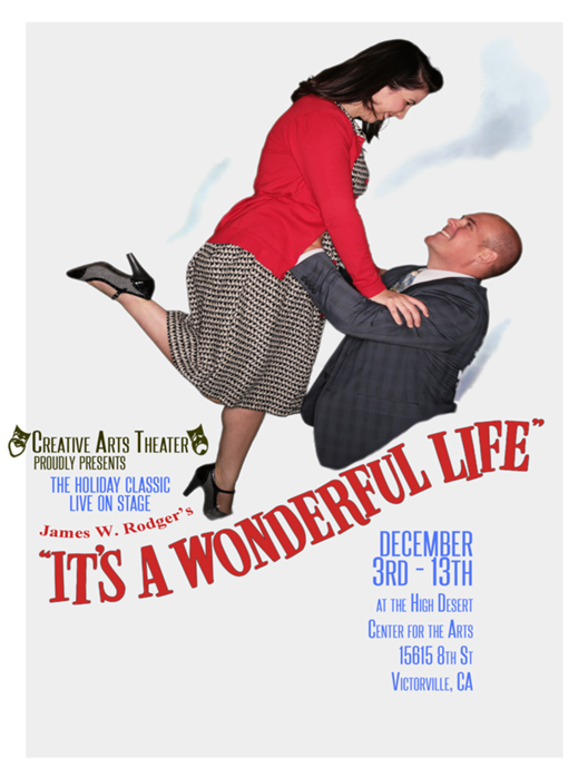 It 39 S A Wonderful Life At Creative Arts Theater Performances December 3 2015 To December 13