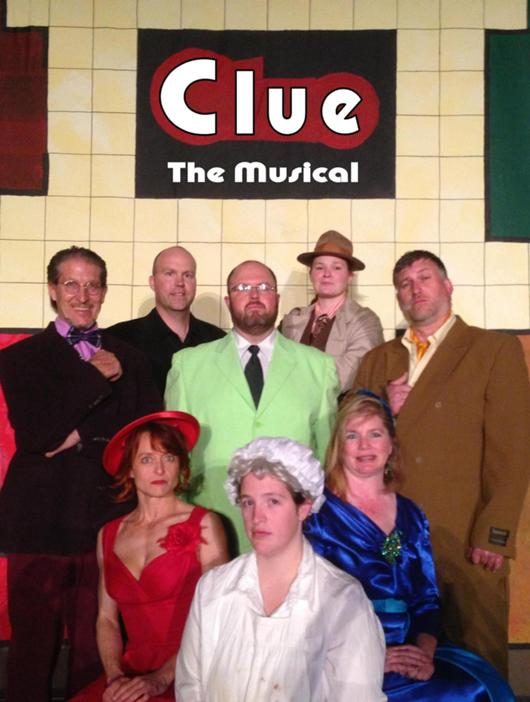 Clue The Musical At Garden City Recreation Commission