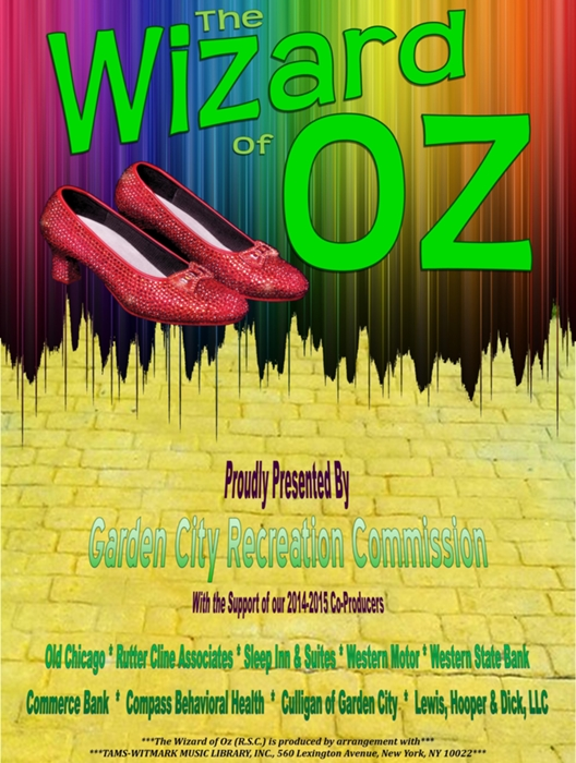 The Wizard Of Oz Rsc 1987 At Garden City Recreation