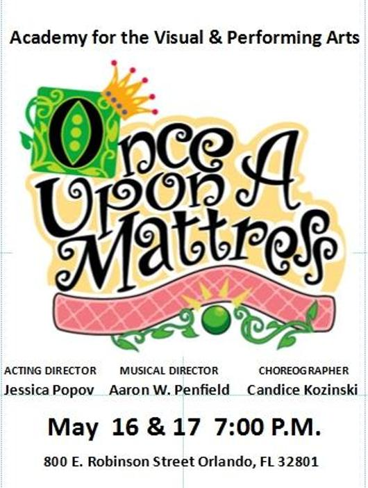 Once Upon A Mattress At Howard Middle School Orlando Fl
