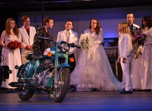 All shook up the musical characters